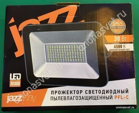 Уличный светодиодный прожектор 30w